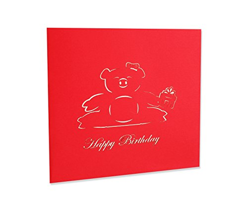 Yokarta 3d pop up birthday cards happy birthday wishes greeting m4hsunfo