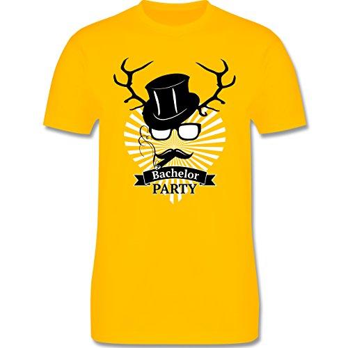 JGA Junggesellenabschied - Bachelor Party - Herren Premium T-Shirt Gelb