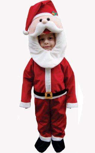 Imagen de dress up america  papá noel, disfraz para niños, 3 4 años 595 t4