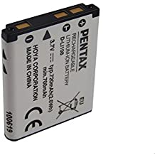 Pentax Li-Ion batería 720mAh (3.7V) para cámara videocámara Pentax Optio L1100, L30, L36, L40, LS1000, M30, M40, M90 por D-Li108, D-Li63, NP-80.