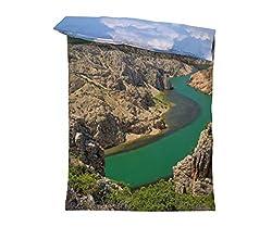 fotobar!style Bettbezug 135 x 200 cm Zrmanja Canyon