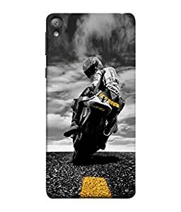 Fuson Designer Back Case Cover for Sony Xperia E5 Dual :: Sony Xperia E5 (sports enfield royal bullet motorcycle)