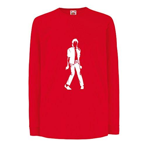 Lepni.me Camiseta para Niño/Niña Me Encanta M J - Rey del Pop, 80s, 90s Músicamente Camisa, Ropa...