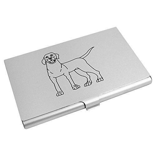 'Labrador' Visitenkartenhalter / Kreditkarte Geldbörse (CH00000405) (Labrador-geldbörse)