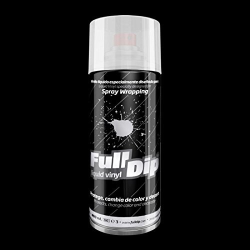 Pintura extraible Full Dip color Negro mate