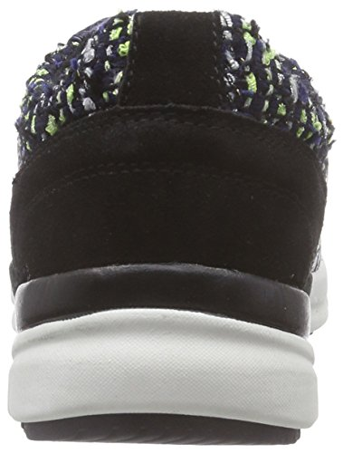 Tamaris 23611, Baskets Basses femme Multicolore - Mehrfarbig (Navy Comb 890)