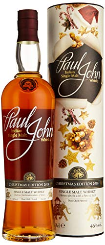Paul John Indian Single Malt Whisky CHRISTMAS EDITION 2018 Whisky (1 x 0.7 l)