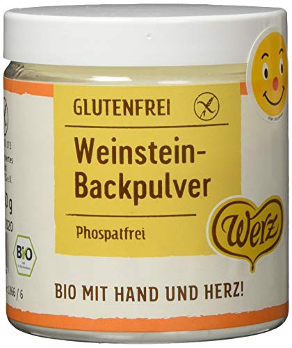 Werz Weinstein-Backpulver, glutenfrei, 3er pack (3 x 150g)