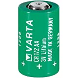 Varta Lithium Battery, CR 1/2 AA, 3 V, (BR1/2AA, CR14250SE)