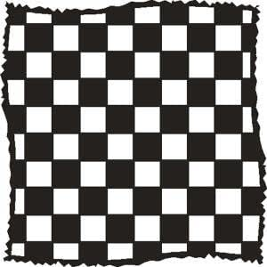 That Special Touch of... Mica Mask - Distressed Checkers