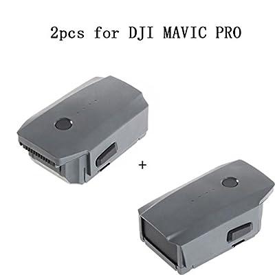 TWIFER 2pcs 3830mAh Intelligent Flight Battery for DJI Mavic Pro Quad Copter Drone