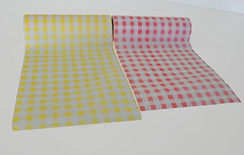 30-disposable-napkins-gingham-rolls-x2