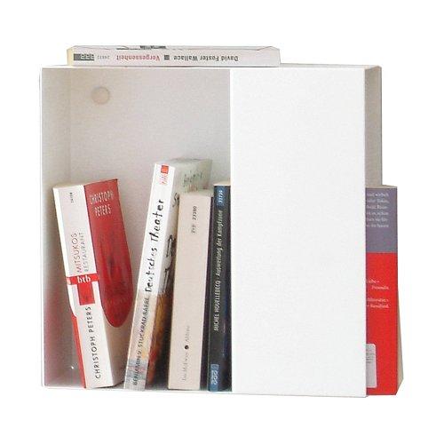 Box Bücherregal S weiß - 30 x 15 cm, h 30 cm