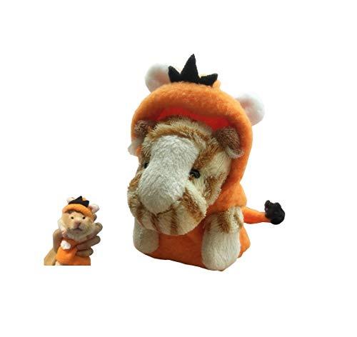 (Khemn Designer Rattenmantel (Tiger-Kostüm) mit dickem Polarfleece, ideal für Ratte, Hamster, Eichhörnchen, Meerschweinchen)