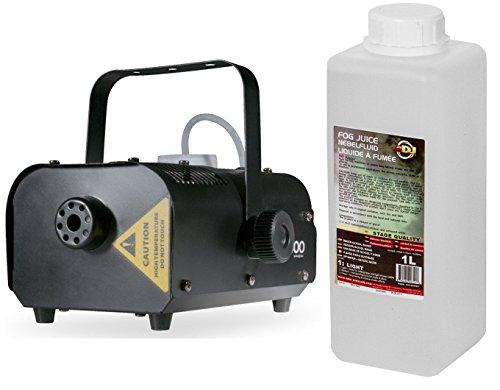 American DJ VF400 Mini Nebelmaschine inkl. 1 Liter Nebelfluid (American Dj Nebelmaschine)