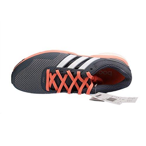 adidas Response 2 W Damen Laufschuhe Gris / Blanco / Rojo (Gris / Ftwbla / Brisol)