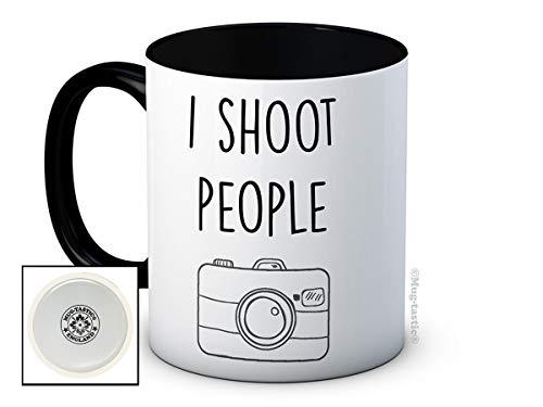I Shoot People - Photographe - de haute qualité tasse à thé café