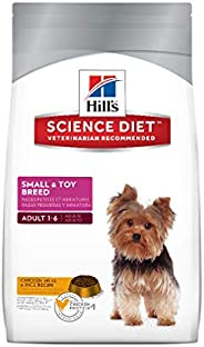 Hill's Science Diet Adult Small & Toy Breed, Chicken Meal & Rice Recipe Dry Dog