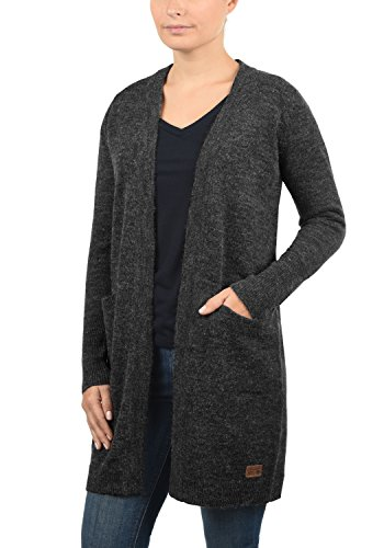 BLEND SHE Neli - Cardigan da Donna Charcoal (70818)