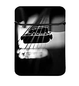 Snoogg First Guitar 14 inch Laptop Case Flip Sleeve Bag Computer Cover