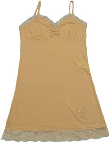 Versace 19.69 - Pigiama 27-9181V per donna, senza maniche Cipria