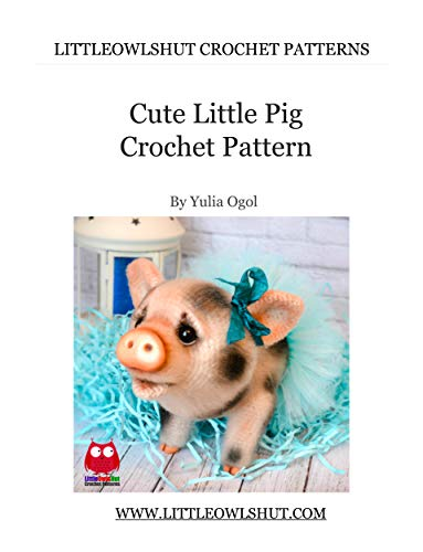 Happyamigurumi: New Amigurumi Pattern : Little Pig PDF Tutorial ... | 500x383