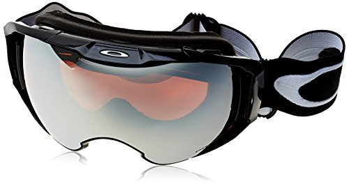 Oakley Herren Airbrake Xl 707101 0 Sportbrille, Schwarz (Jet Black/Prizmblackiridium), L