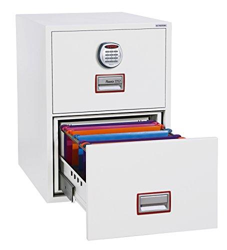 Phoenix World Class Vertikal Fire Datei Aktenschrank mit elektronischem Schloss (2Schubladen)