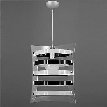 Lampadario a sospensione stile moderno in plexiglass colori a scelta camera da letto soggiorno - Amazon lampadario camera da letto ...