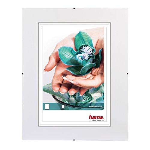 Hama 63018 - Marco de vidrio para fotos, 30x20 cm