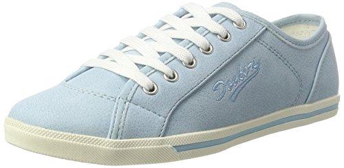 Dockers by Gerli 27ch821-610610, Sneakers Hautes Femme Bleu (Hellblau 610)