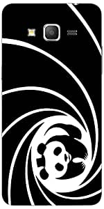 Snoogg Panda Circle 2520 Case Cover For Samsung Galaxy Grand Duos 2 G7106