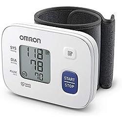 Tensiomètre au Poignet OMRON RS1 pour Utilisation à Domicile ou en Déplacement
