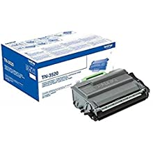 Brother TN-3520 Toner Cartridge, Ultra High Yield, Black, Brother Genuine Supplies