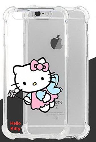 Hello Kitty ultraklar Fall Lassen und stoßfest für Apple iPhone 6Plus & iPhone 6S Plus-Retail Verpackung, TPUIP6SPKT7 (Kitty Hello Plus 6 Iphone Fall)