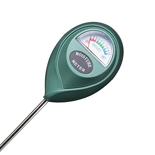 XLUX Boden-Feuchtigkeitsmessgerät Boden-Feuchtigkeitsmesser, Hydrometer für Den Garten & die Landwirtschaft, Keine Batterien erforderlich