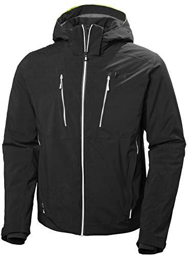Helly Hansen Alpha 3.0 Jacket, Giacca da Sci per Uomo, Abbigliamento Termico Sportivo Adatto per Sport Invernali e Attività Outdoor in Montagna, Antivento, Impermeabile e Traspirante
