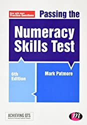 Passing the Numeracy Skills Test (Achieving QTS Series) Sixth edition by Patmore, Mark (2015) Paperback