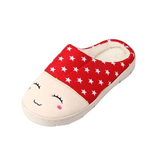 overdose-femmes-accueil-sol-doux-femelle-coton-chaussures-couple-chaussures-38-39-femmerouge