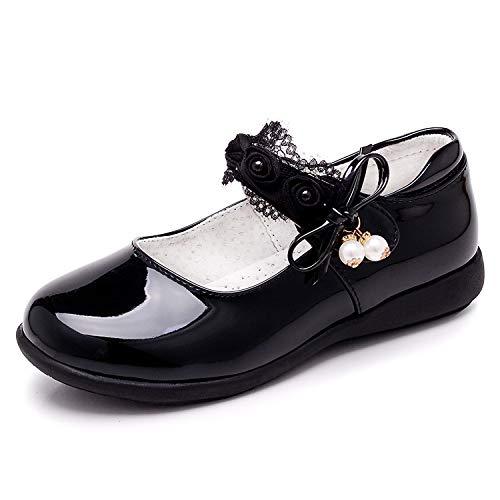 YOSICIL Scarpe per Bambini per Ragazze Scarpe per Bambini con Fiocco Principessa Scarpe per Bambini Scarpe Casual Scarpe Eleganti Scarpe da Festa