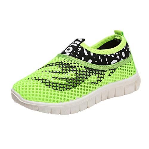 nder Sommer Bedruckte Atmungsaktive Sneakers, Jungen Mädchen Turnschuhe Weiche Freizeitschuhe Sportschuhe Laufschuhe ()