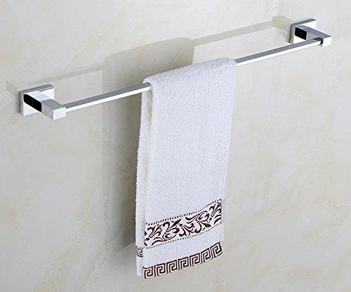 MBYW toallero Moderno y Minimalista de Gran Capacidad de Carga Toallero de baño de Moda Toallero de baño_c15200 Barra Individual Baño de Acero Inoxidable, Montaje Perforado, 44   cm