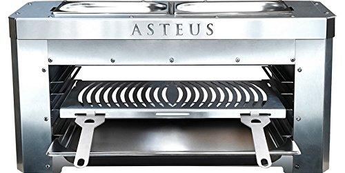 Asteus 4260293725134 Wetterfeste Abdeckhaube Family, Schwarz, 72 x 26 x 35 cm