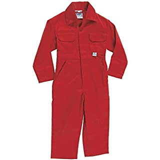 Acce Products Apprentice Digger Driver Baby, Childrens, Kids, Coverall, Boilersuit, Overall - Size - 28-7-8 Years - Red
