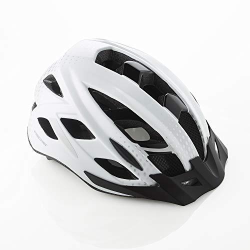FISCHER Erwachsene Urban Lano Fahrradhelm, weiߟ, L/XL