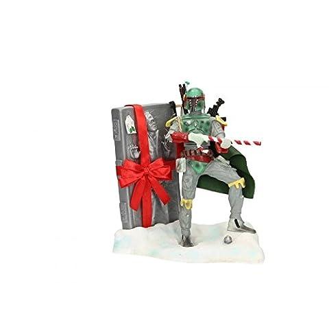 Star Wars - Figurine Christmas Boba Fett Santa Claus Han Solo Carbonite 20cm