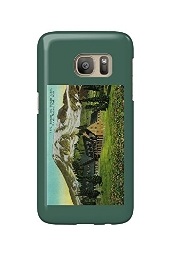 Paradise Inn, Mt. Rainier National Park (Galaxy S7 Cell Phone Case, Slim Barely There) -