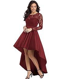 d5ba192ef Amazon.es  Vestido De Fiesta Con Cola - Vestidos   Mujer  Ropa