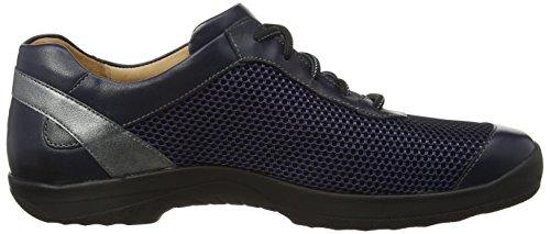 Ganter Barefoot-Men, Weite G, Derby Homme bleu (ocean/antrazit 3062)