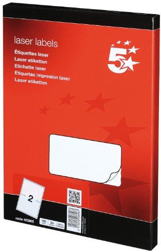 5-star-423865-paquete-de-2-x-100-etiquetas-para-impresoras-color-blanco